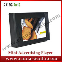 5 inch TFT LCD Monitor in store 12V mini lcd tv Auto play video advertising screens