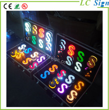 Used outdoor flexible neon sign for adversting for wholesales