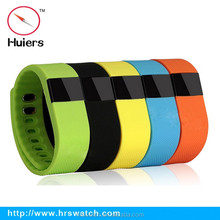 China supplier Huiers TW64 pedometer calorie wireless activity sleep wristband