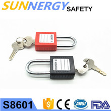 Factory Supplier abs safety pad lock with high quality