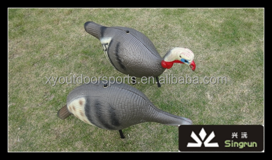 Wholesale Inflatable Turkey Decoy Hunting Feer Position Hen and Drake