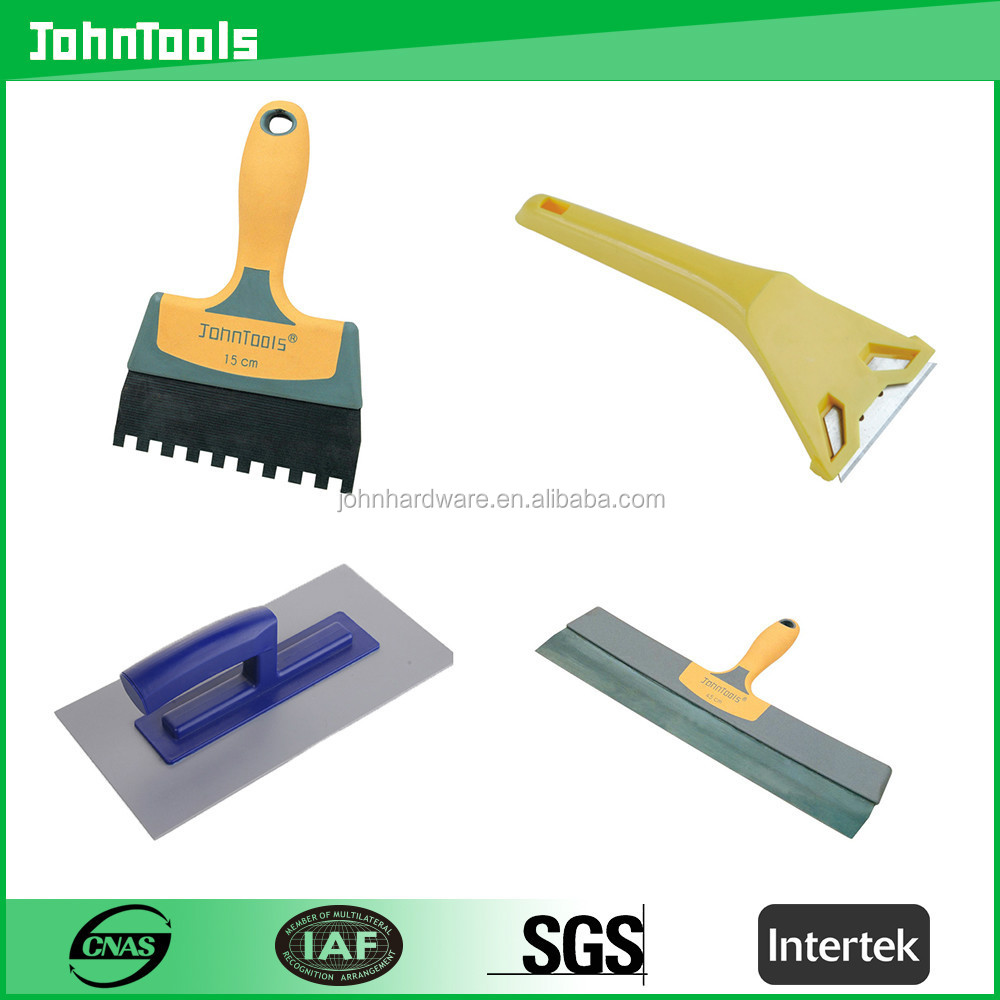 blue steel solid wooden handle garden trowel /bricklaying trowel /forged brick trowel construction tools set