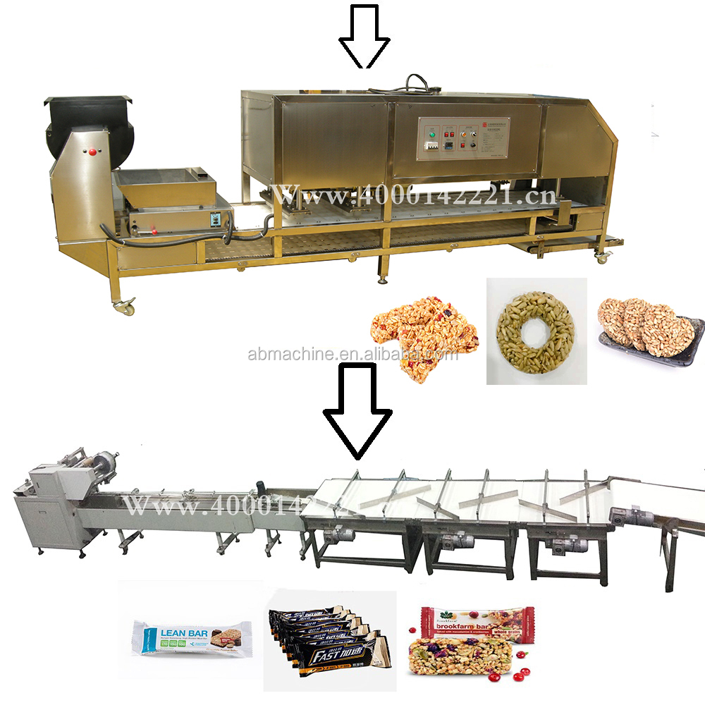 candy forming machine grain extruder granola bar machine