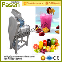 Industry Carrot Juice Machine / Commercial Ginger Juicer / Ginger Juice Extraction Machine
