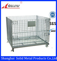 Metal mesh box wire cage metal bin storage container