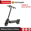 WINboard dual motor 48V 20Ah 6 suspensions folding adult electric scooters 2000w for sale