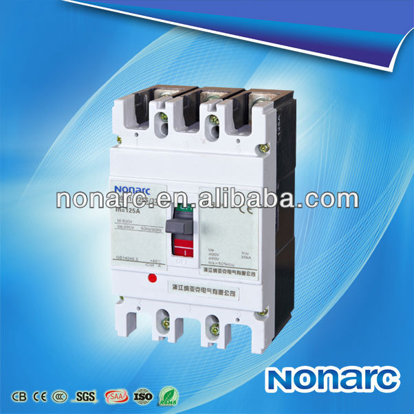 NOM1 White Cover MCCB 3Ve1 Circuit Breaker