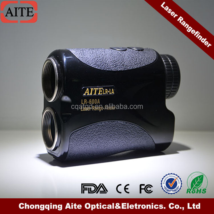 Laser Golf Rangefinder with Slope and Jolt Function