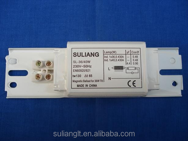factory price fluorescent lamp magnetic ballast for t8 15w. Black Bedroom Furniture Sets. Home Design Ideas