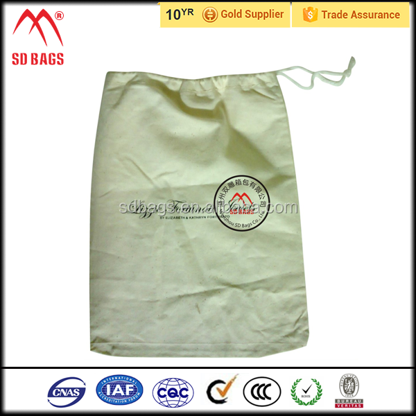 Wholesale customized drawstring canvas bag,lady hand canvas bag, zipped pouch canvas bag
