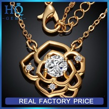 Top quality latest gold nautical necklace