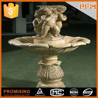 2015 hot sale natural marble made hand carved party drinking fountain