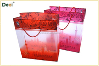 hot new products custom made pp plastic woven shopping gift bag made in China