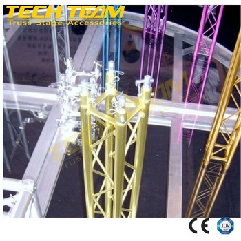 small stage lighting truss, mini aluminum truss