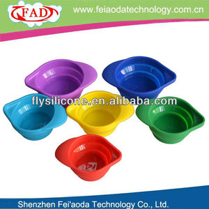 Folding Silicone Measuring Cup Measuring Bowl