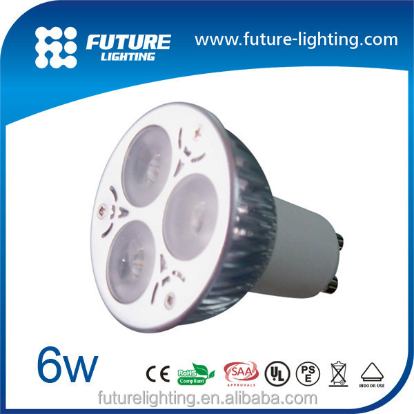 Best-selling MR16 3x2W led spot