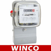 DD283/DD284 SINGLE PHASE ELECTROMECHANICAL FRONT BOARD INSTALLED ACTIVE ENERGY METER