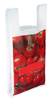 Wine Bag Promotional Biodegradable Trade Show Gravure Printed Plastic Shopping Bag
