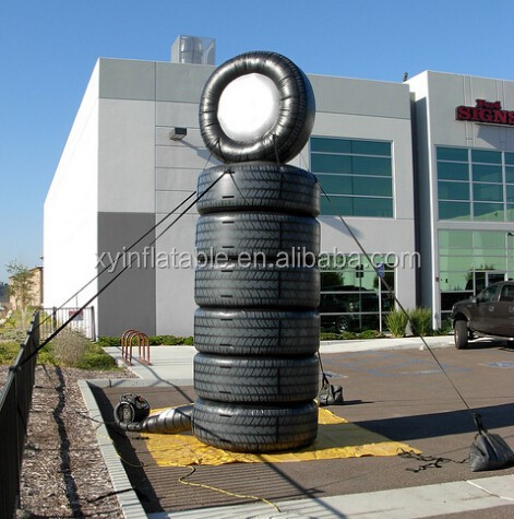 New products inflatable tire advertising,wholesale used tires for sale