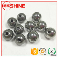Factory Provide Solid Carbon steel ball with thread can customize