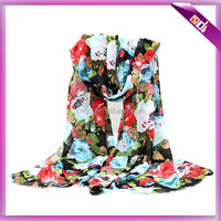 Very cheap scarf with chiffon