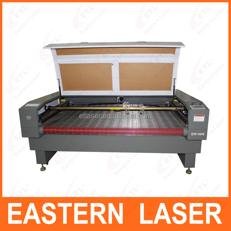 Jeans co2 laser engraving cutting machine with CE