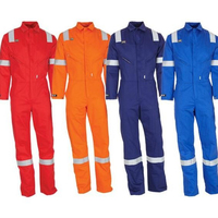 China factory hi vis reflective safety coverall fireproof work clothes