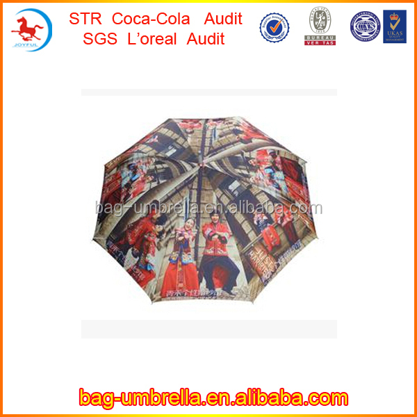 Abercrombie Manufacture 23inchx8k Walking Straight Auto Open Solar Panel Umbrella