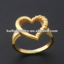 R30057Y 2012 Newest style 18K gold ring