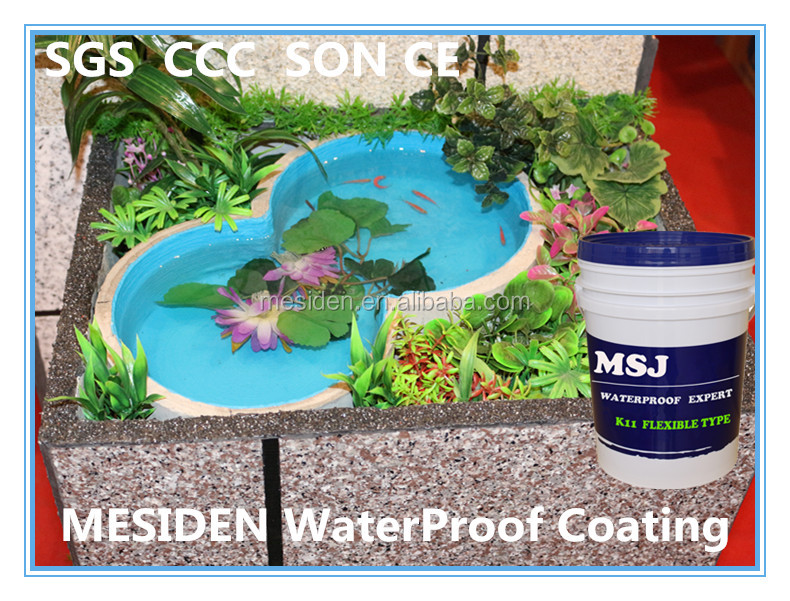 MESIDEN Polymer-modified Cement Compounds For Waterproofing Membrance