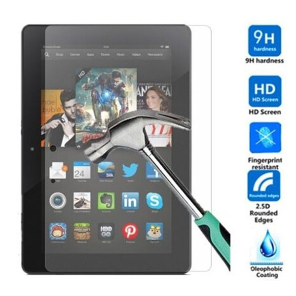 Genuine Premium Tempered Glass Screen Protector For Amazon Kindle Fire HDX 8.9""