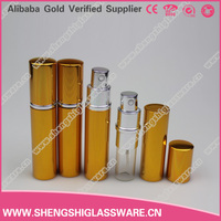 10ml new design tube-type glass vial bottles with Electrochemical aluminum shell