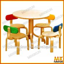table and chairs for kid's wooden furniture