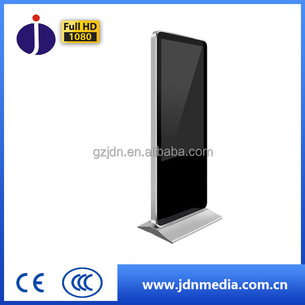 43inch standing lcd screen ad displayer/ usb mp3 media player (support sd/usd/network)for sale