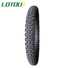 Tube tyre LOTOUR top 10 brands for racing bike 2.75-19 100/90-18 bias design