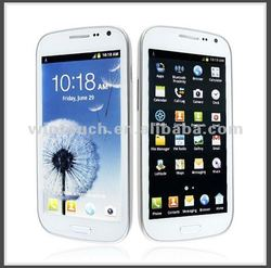 "2012 new cell phone android 4.0 smartphone i9220 5.3"" touch screen MTK6575 1.0GHz wifi GPS dual camera cell phone"