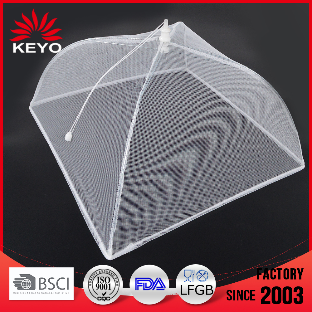 "KY4343FT barbecue Accessories bbq tool 16"" Pop Up Food umbrella Tent mesh Cover"