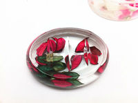 Clear plastic soap plate plastic crystal soap plate acrylic oval soap dishes