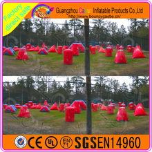 Inflatable Paintball Bunker Bullet Design For Sale
