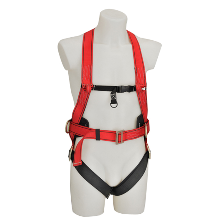 3 adjustable point PE back support protective safety belt full body harness