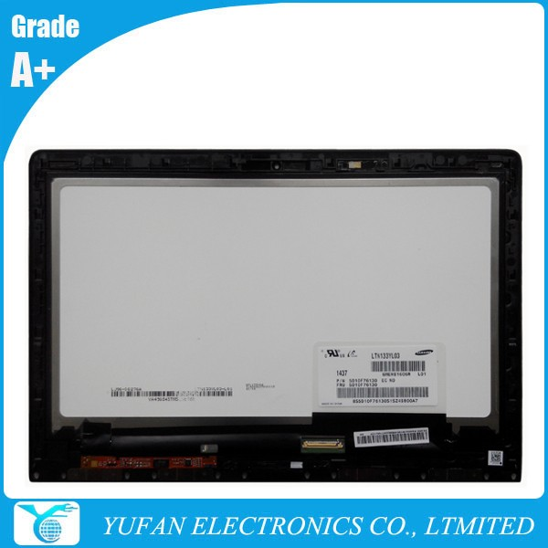High-quality 13.3 inch LCD Display Touch Screen 73049509 LTN133YL03 for laptop Yoga 3 Pro