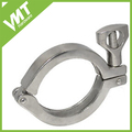 "1.5"" Tri Clover Clamp Fits 50.5MM OD Ferrule Flange Stainless Steel 316"