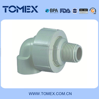 Male Female Elbow BS Standard Thread pvc pipe and fittings