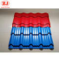 China factory wholesale 0.13-1.2mm galvanize corrugated steel antique tile roof sheet construction building materials