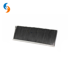 Customed Nylon Wire Aluminium Holder Door Bottom Sweep Strip Brush Hot sale in UK