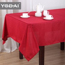 Wedding Decoration Cloth Non-Slip Solid Tablecloth Dining Oilproof Table Cover