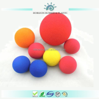 High Quality Eva foam missile rocket stress ball color