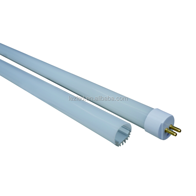 High quality 1200mm fluorescent t5 led tube light housing with milky cover