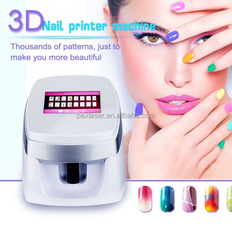 Multi-function Portable Colorful Nail Printing Machine Price Digital ...