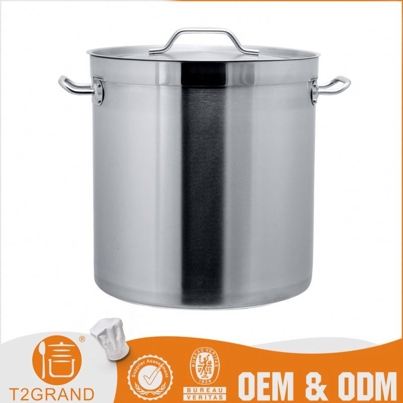 Best Seller Cheapest Price Customizable Stainless Steel 5 Gallon Pot